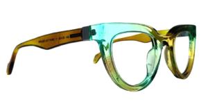 Angled Cat Glasses + colors